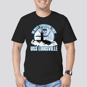 Jolly Roger [SSN 724] Men's Fitted T-Shirt (dark)
